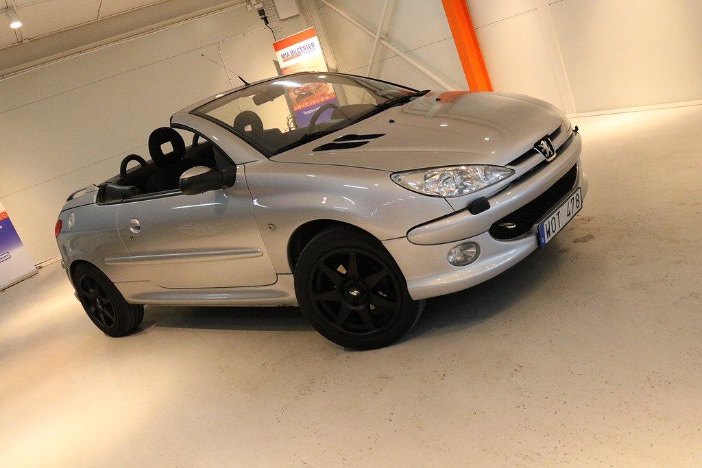 Peugeot 206 CC 1.6 109hk