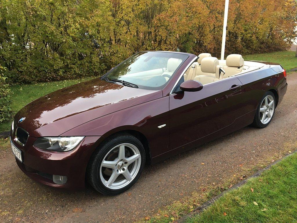 BMW 320 i Cabriolet Skinn Comfort 170hk