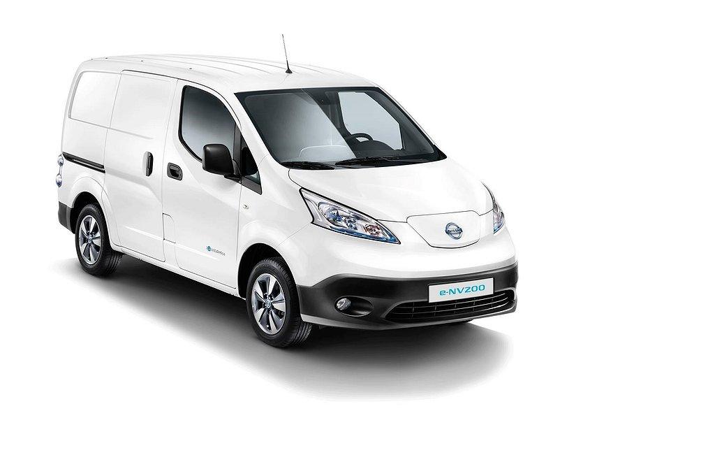Nissan E-NV200 Van Premium 40 kWh Blind Fd Blind SSD