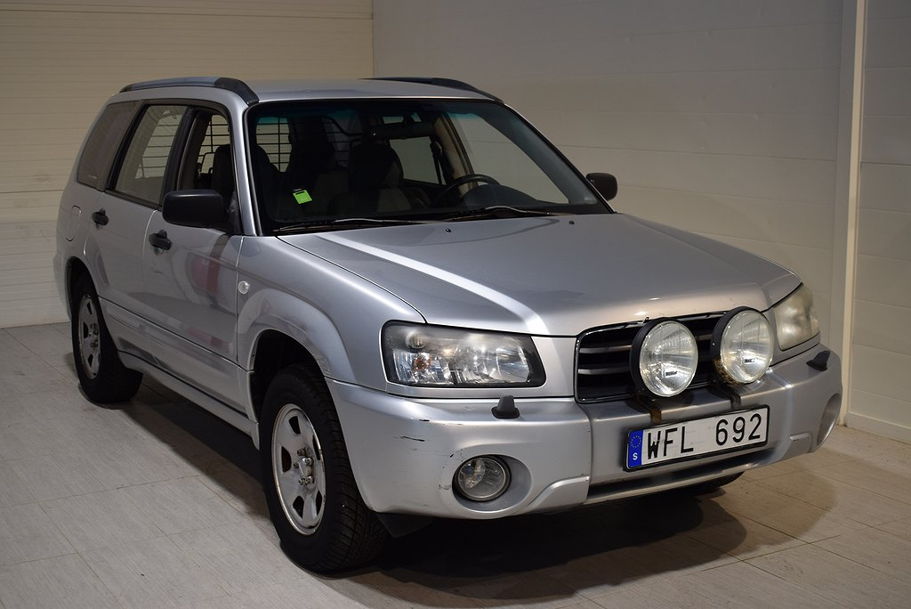 Subaru Forester 2.0 4WD 125hk 2005