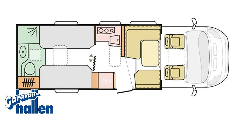 Adria Matrix Supreme 670 SLT - Fiat 6D 2,3 160HP 44H