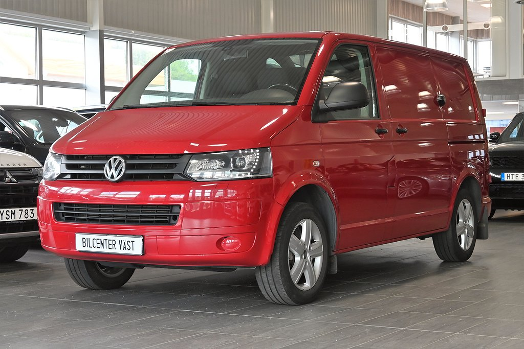 Volkswagen Transporter 2.0 TDI DSG 180hk Dubbla dörrar Värmare