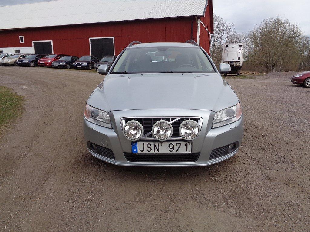 Volvo V70 2.0 Flexifuel Powershift Momentum 145hk*besik*