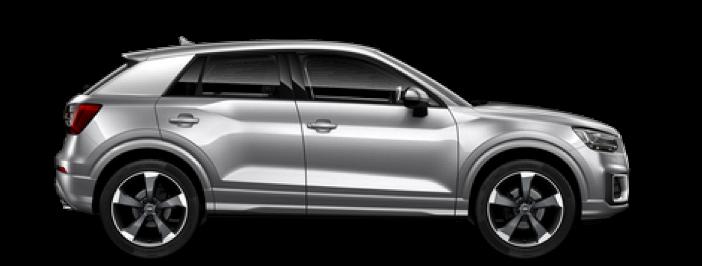 Modellbild av en Audi Q2