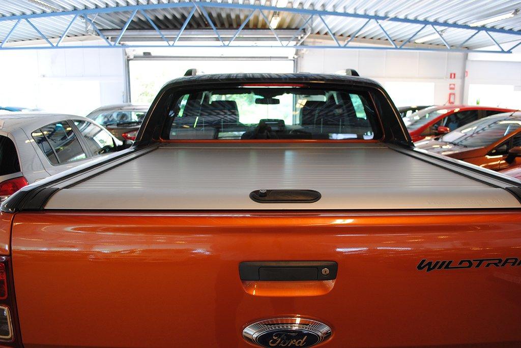 Ford Ranger DC WildTrak 3,2 TDCi 200hk Aut*Värmare*