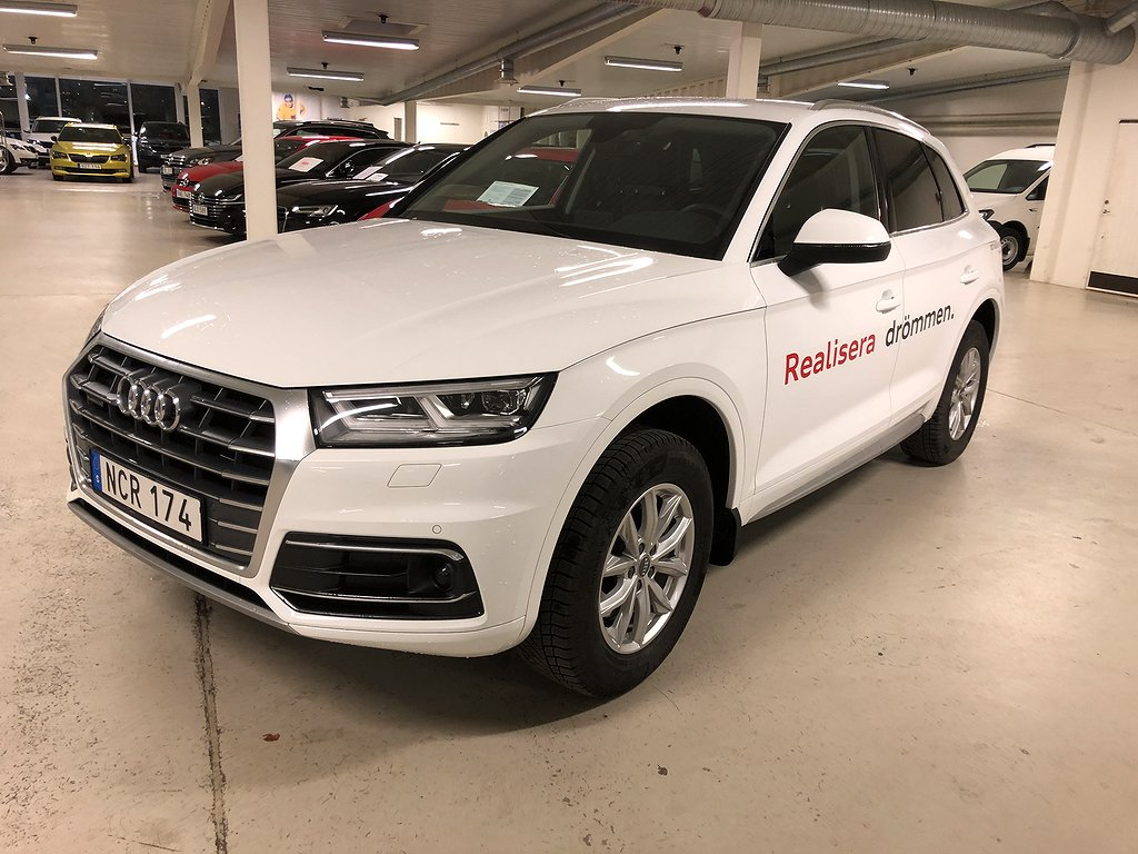 Audi Q5 2.0 TFSI 252HK QUATTRO S-TRONIC DEMOBIL!