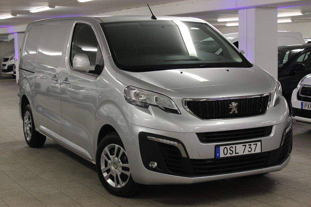 Peugeot Expert Skåp 2,0 BlueHDi 180hk Aut 6m3 L2 3-Sits - DRAGKROK