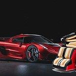 Koenigsegg släpps som massagestol