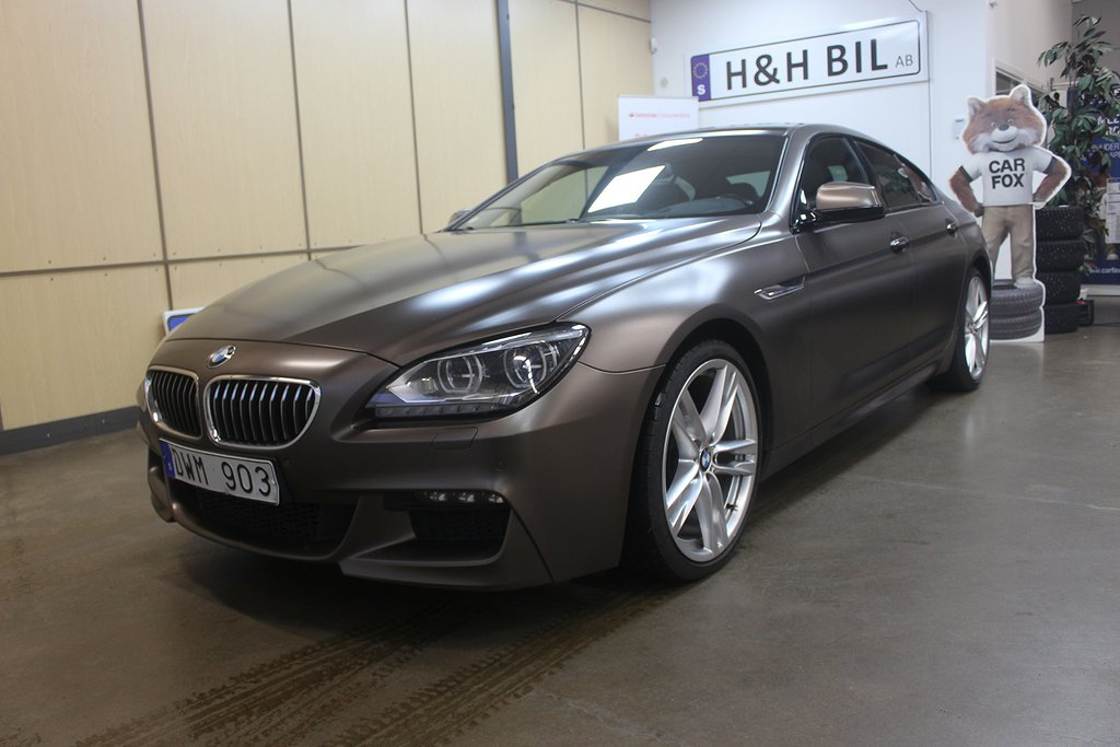 BMW 640 d Gran Coupé Steptronic M-Sport 313hk