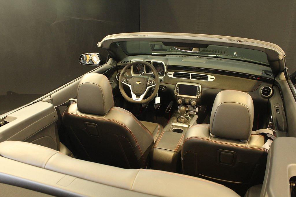 Chevrolet Camaro ZL1 Convertible ca 650hk