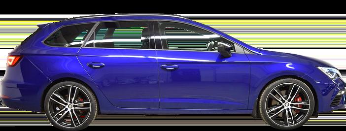 Modellbild av en Seat Leon ST