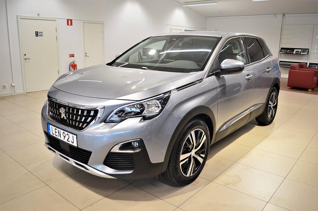 Peugeot 3008 1.5 BHDi 130hk Allure 1Ägare Aut V-Hjul LEASEBAR