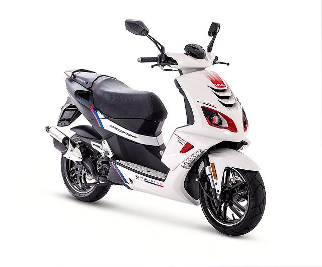 Peugeot PEEDFIGHT 4 R-CUP ICY WHITE TOTAL