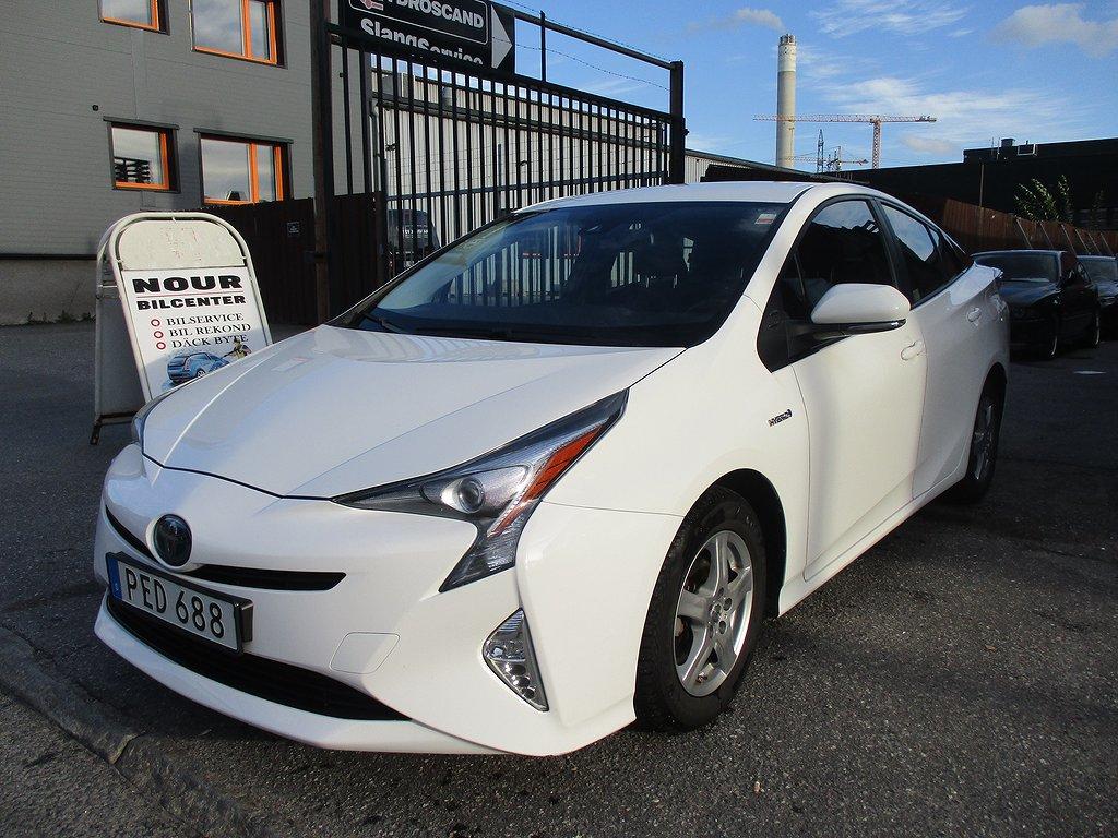 Toyota Prius Hybrid 1.8 VVT-i Hybrid CVT Euro 6 123hk. Dragkrok.
