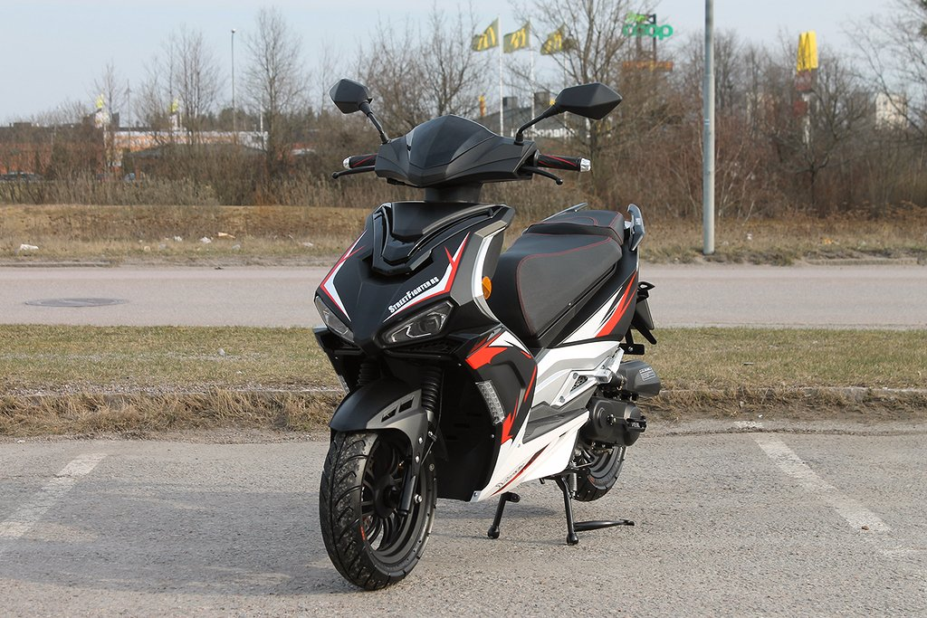 Vento Street Fighter RS EU 45 Moped / Scooter Euro4