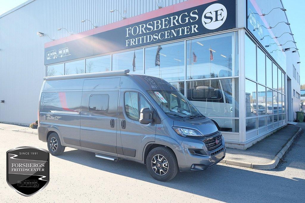 Bürstner City Car C 603 / Gråmet / 9-Vxl Aut / 140hk
