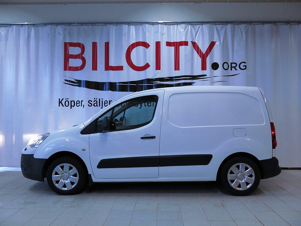 Citroën Berlingo Van 1.6 HDi Moms 90hk Svensksåld