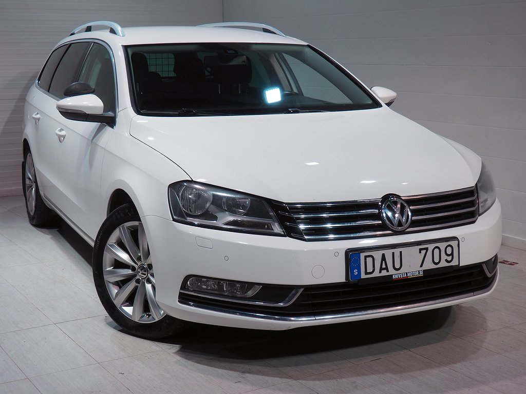 Volkswagen Passat Variant 2.0 TDI BlueMotion 4M Sport 140hk 2012
