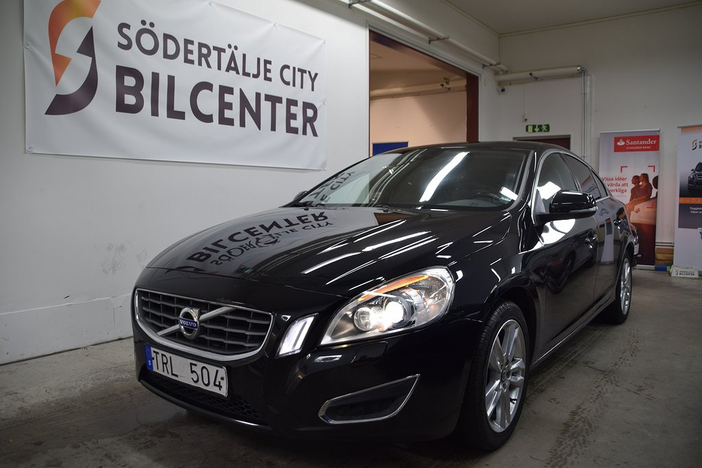 Volvo S60 D3 Summum Skinn Auto 163HK SVENSKSÅLD