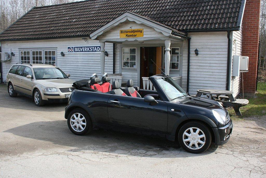 Mini Cooper 1,6 cab
