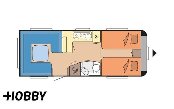 Hobby 620 CL Prestige ALDE Centralvärme
