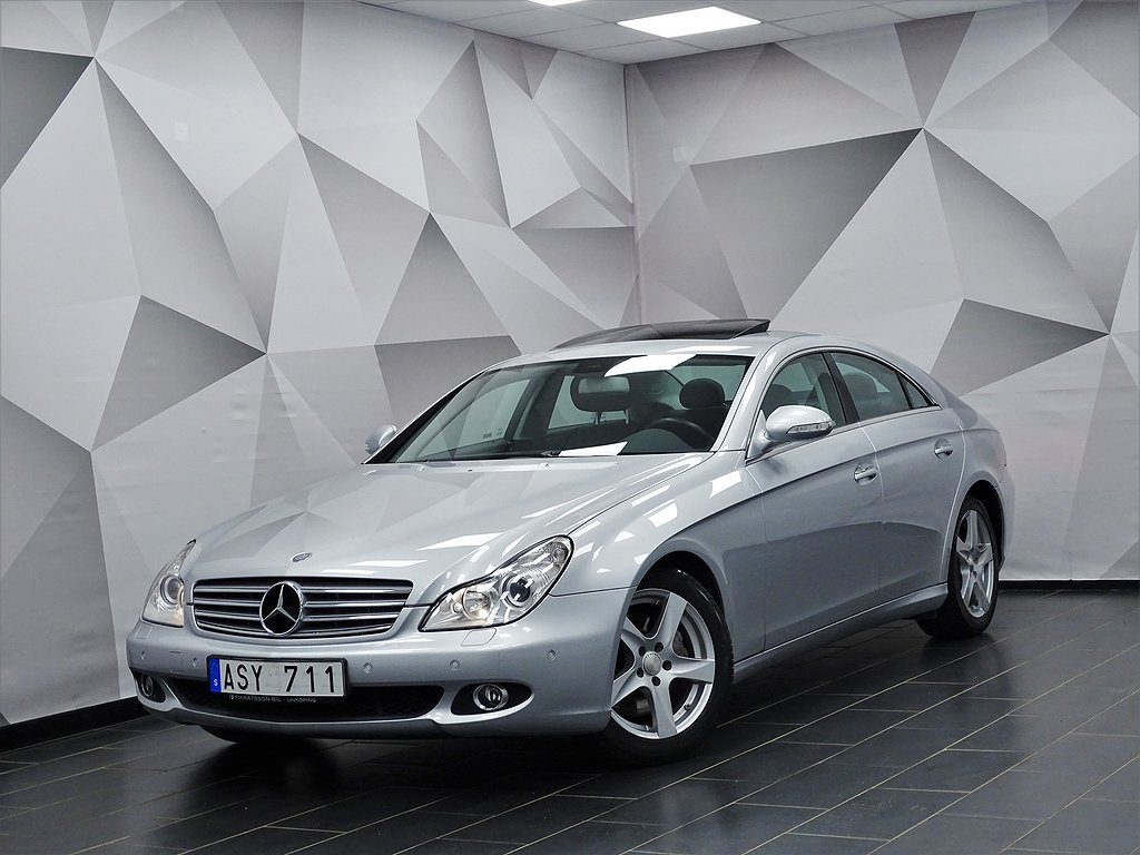 Mercedes-Benz CLS 350 CGI 292hk / Taklucka