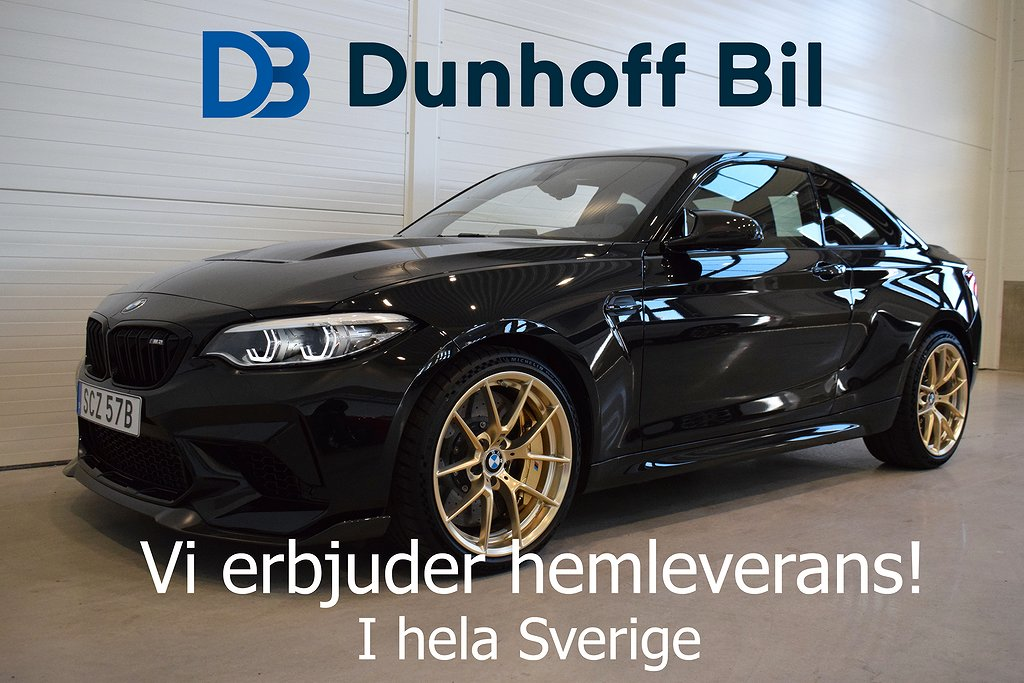 BMW M2 CS Clubsport DCT 450hk Keramiska Bromsar )
