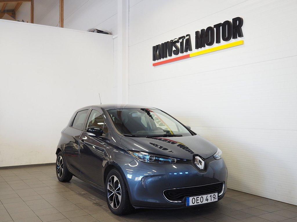 Renault Zoe 41 kWh 109hk Navi, Bose Batteriköp 2018