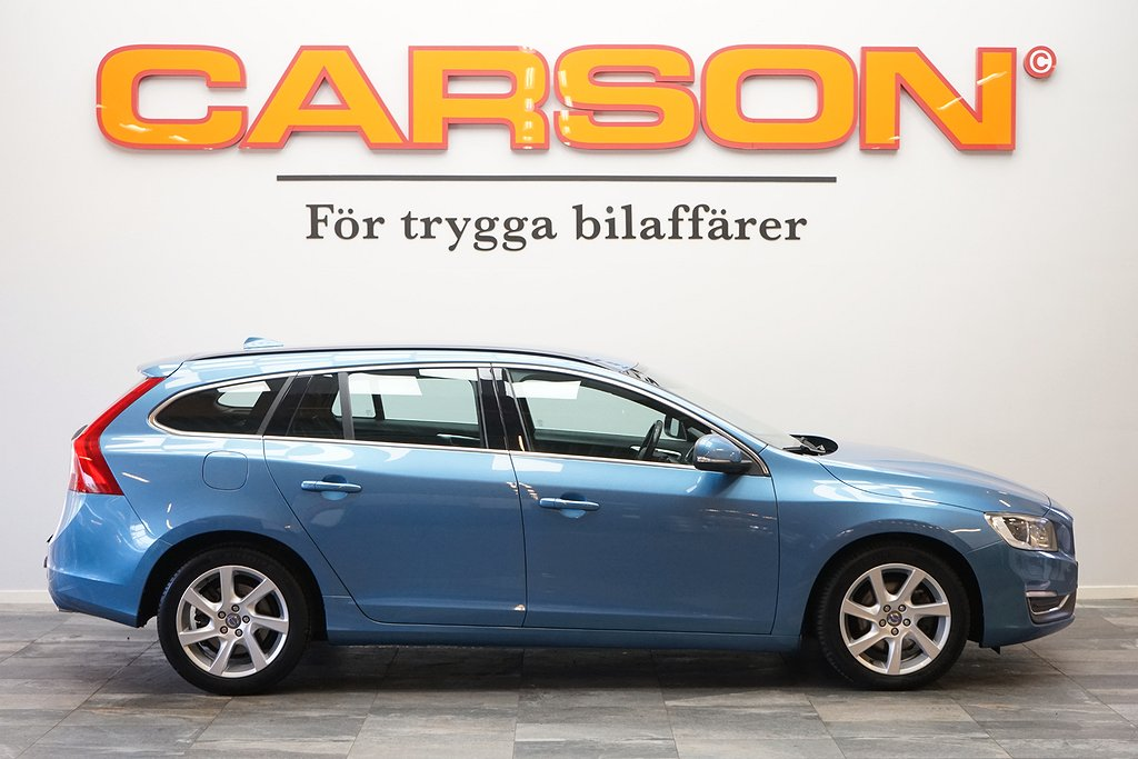 Volvo V60 D4 181HK Momentum Värmare Dragkrok Fullservad Eu6