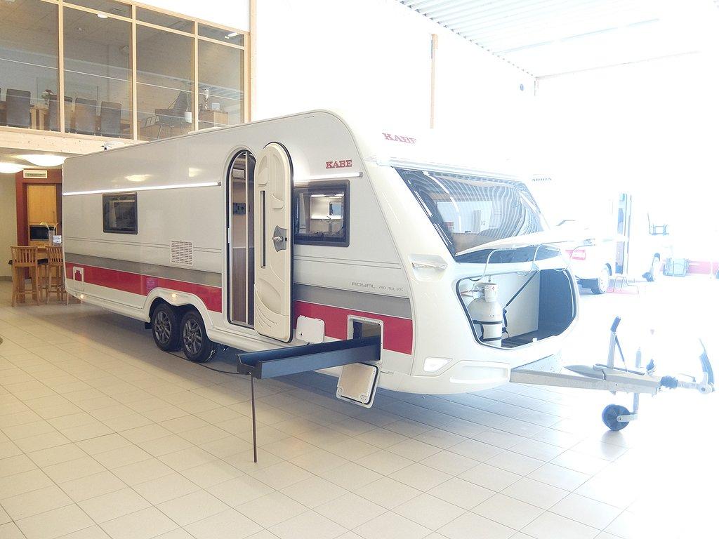 Husvagn, 2-axl Kabe Royal 740 TDL KS E2 2 av 22
