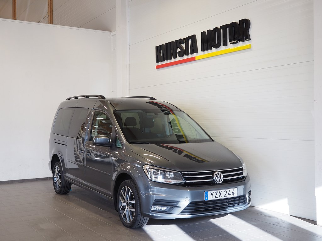 Volkswagen Caddy Maxi Life 2.0 TDI 4Motion 7-sits 150hk 2018