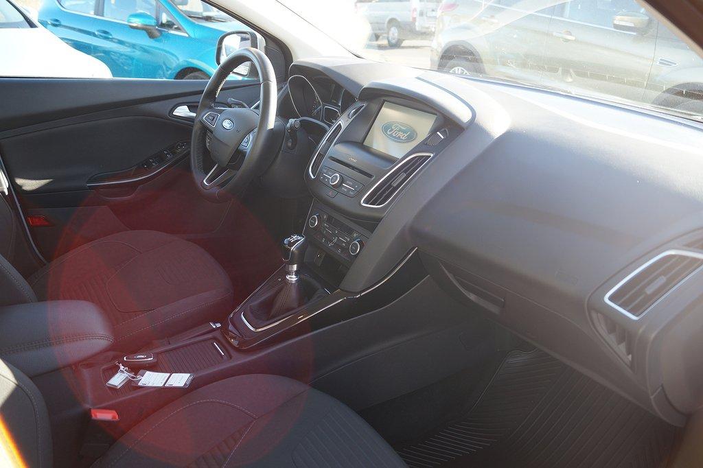 Ford Focus 1.0 EcoBoost 125hk Titanium 5D