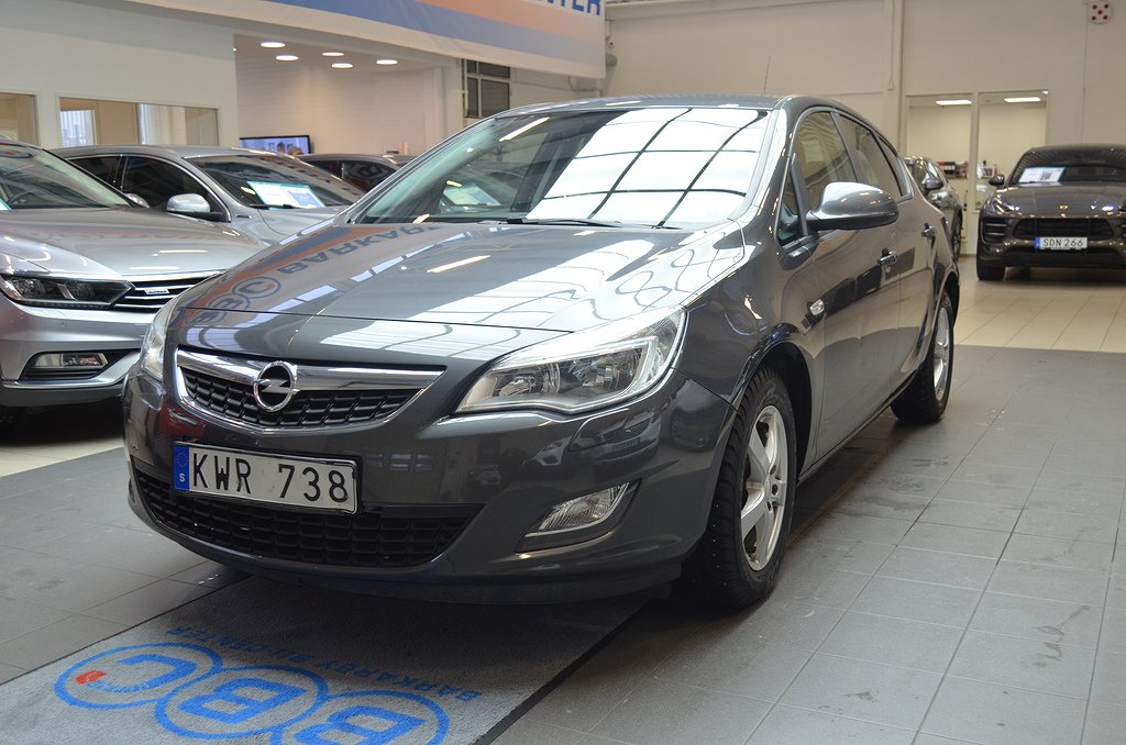 Opel Astra 1.4 Turbo 140hk /