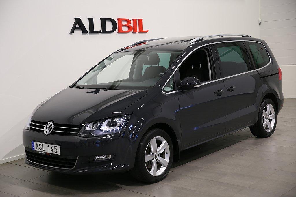Volkswagen Sharan TDI 140hk BMT Masters Premiumpaket 7-sits