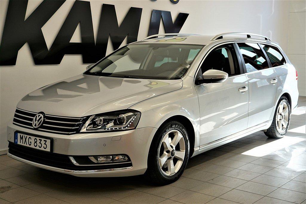 Volkswagen Passat 2.0 TDI 4M Premium D-värm Drag Skinn 170hk