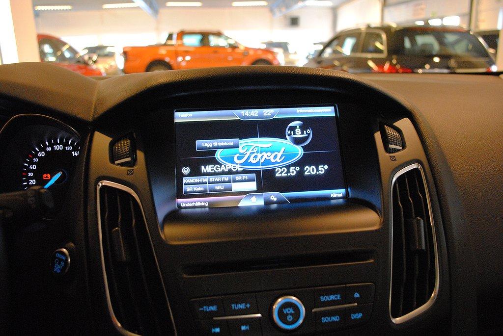 Ford Focus 1.0T EcoBoost 125hk Titanium 5d