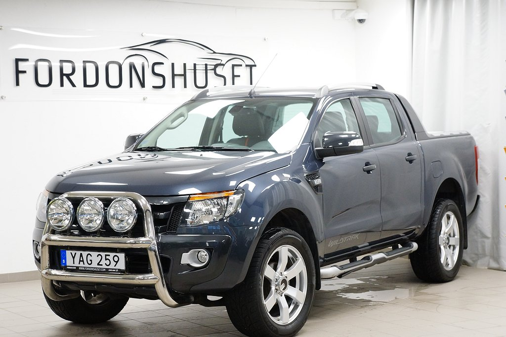 Ford Ranger 3,2 TDCi 4WD WILDTRAK / DOUBLE CAB