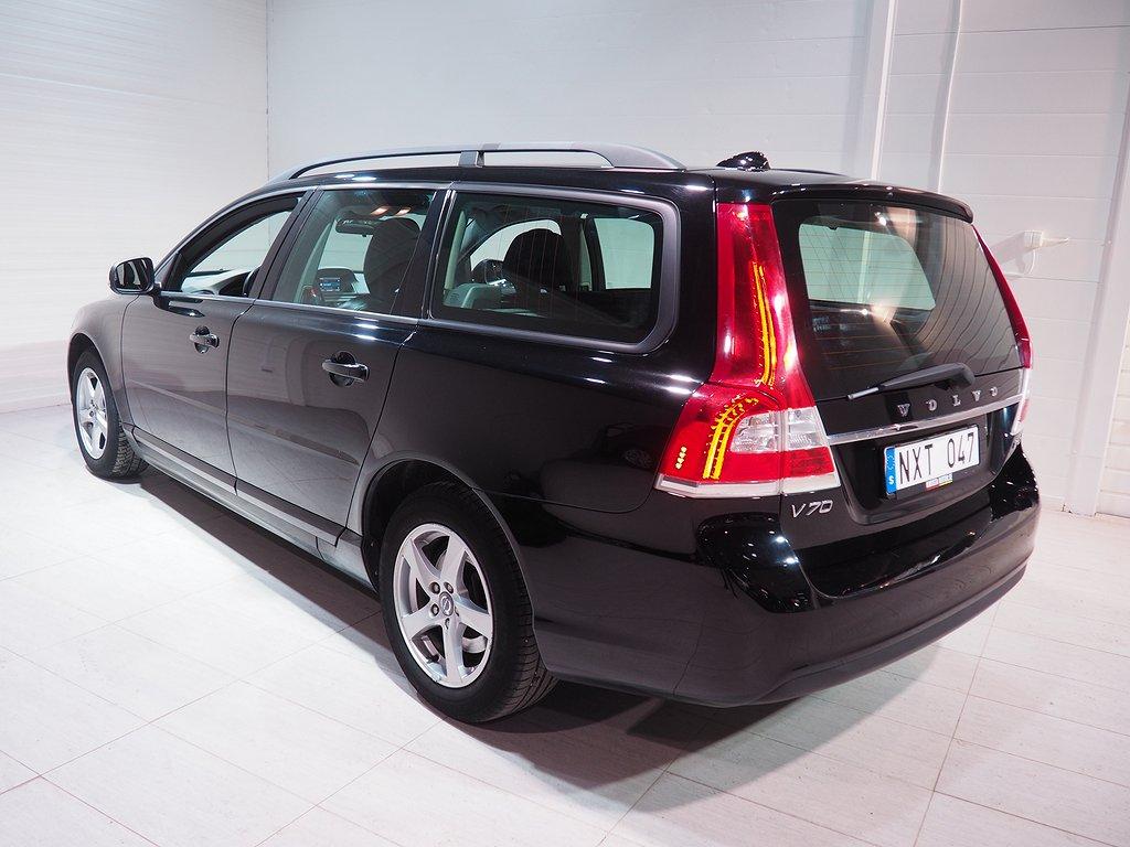 Volvo V70 2.0 Bi-Fuel Automat 218hk Helskinn 2014