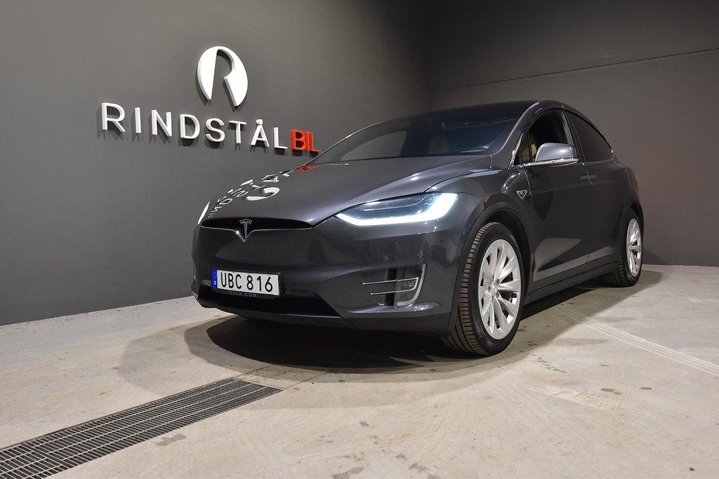 Tesla Model X P90D 772 HK AWD LUDICROUS DRAG 7-SITS SE UTR