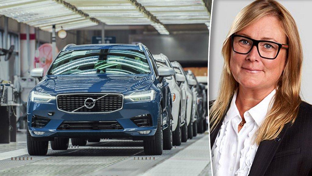 Hanna Fager, HR-chef på Volvo Cars.