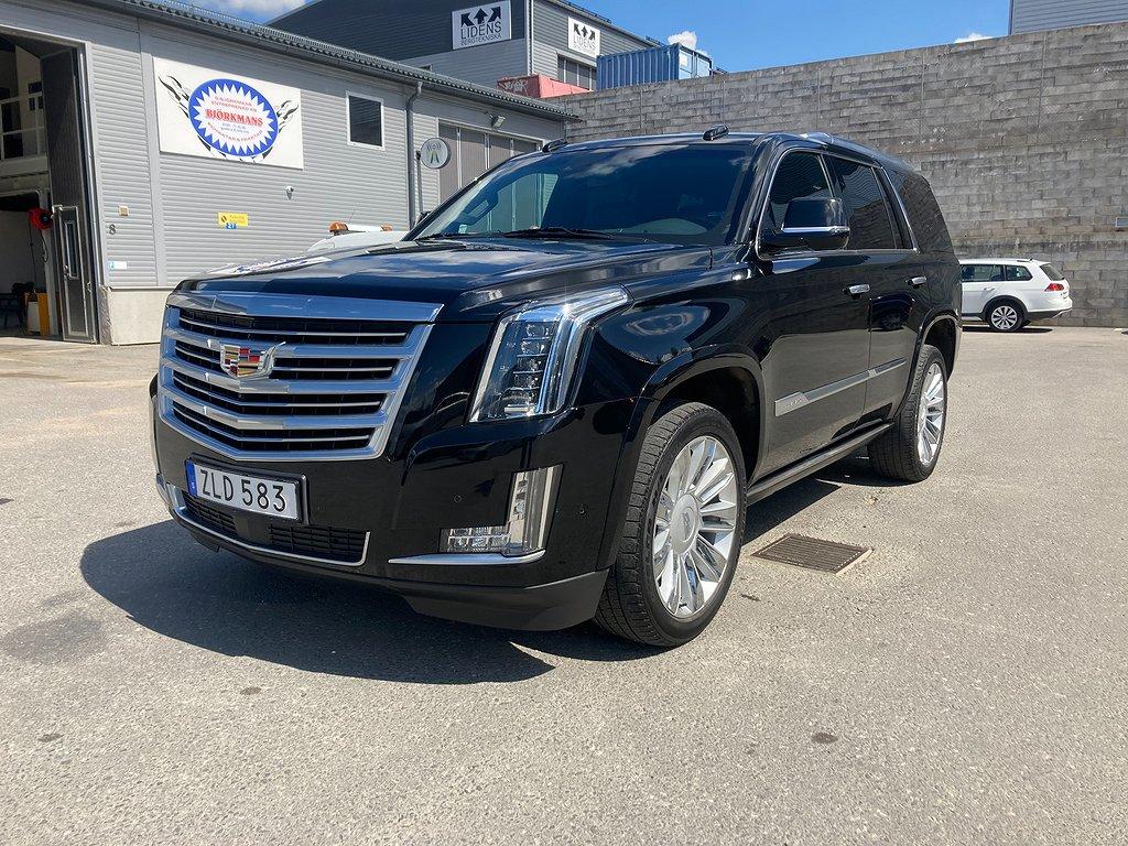 Cadillac Escalade Platinum 6.2L V8 420hk AT8 7-Sits 4WD Moms