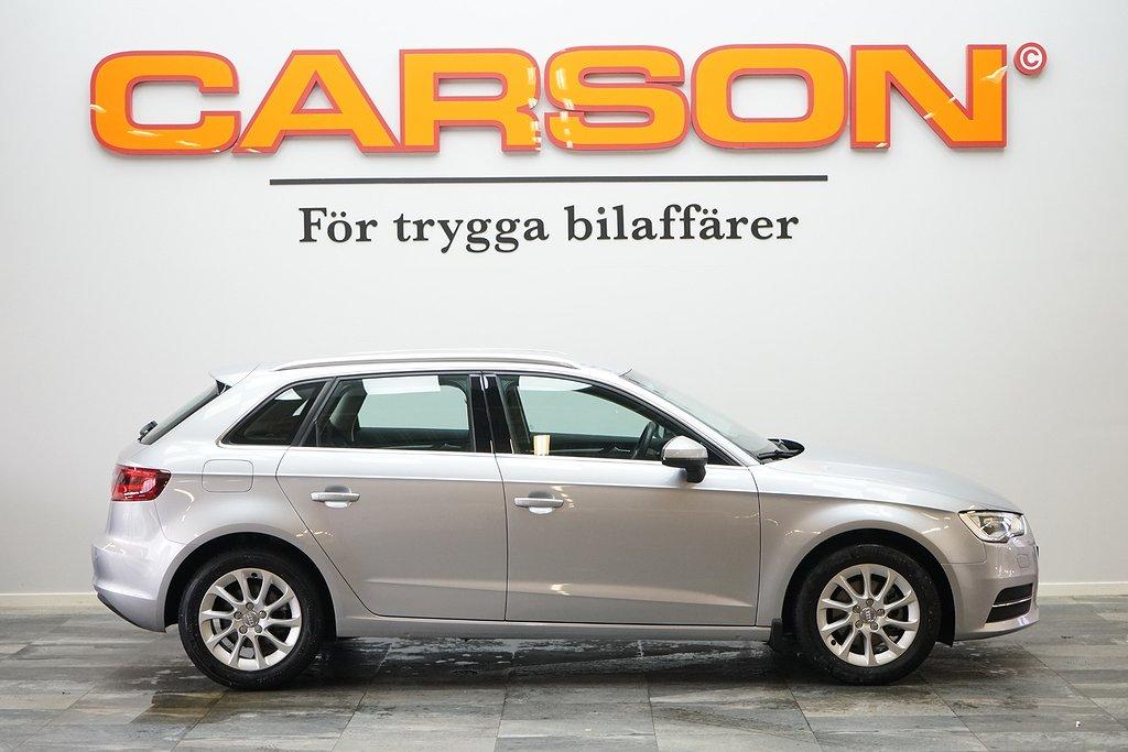 Audi A3  1.4 TFSI 125HK Aut Fullservad 514KR Årsskatt
