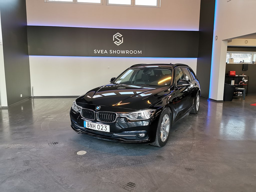BMW 318 d Touring Steptronic Euro 6 Nyservad Nybilsgaranti
