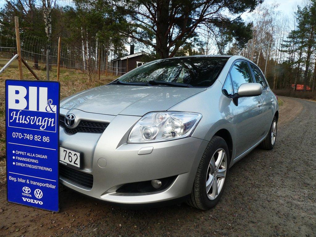 Toyota Auris 5D 1.6 VVT-i NYBES/ACC/FINANS/INBYTE/BRA SKICK