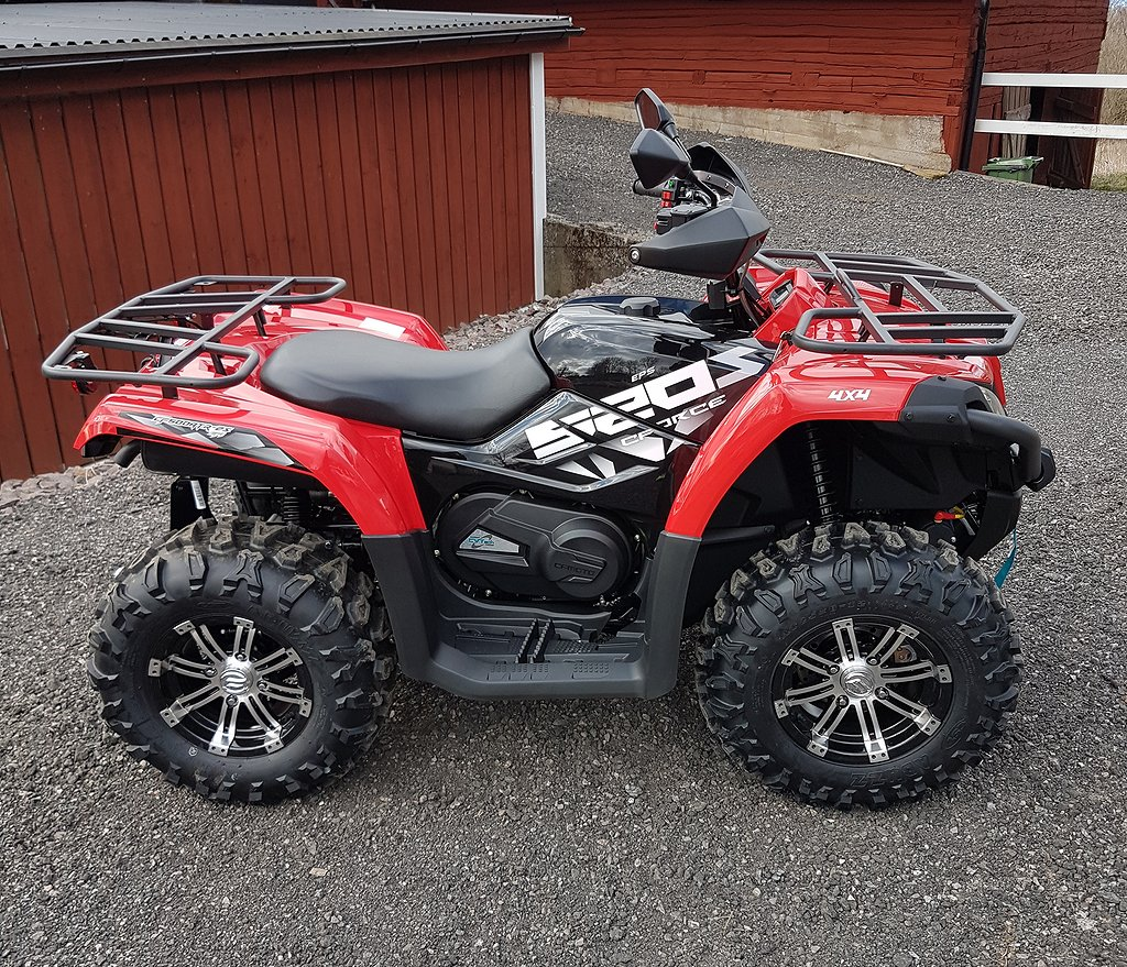 CF Moto 520 SERVO OMG LEV GRÄNNA ATV