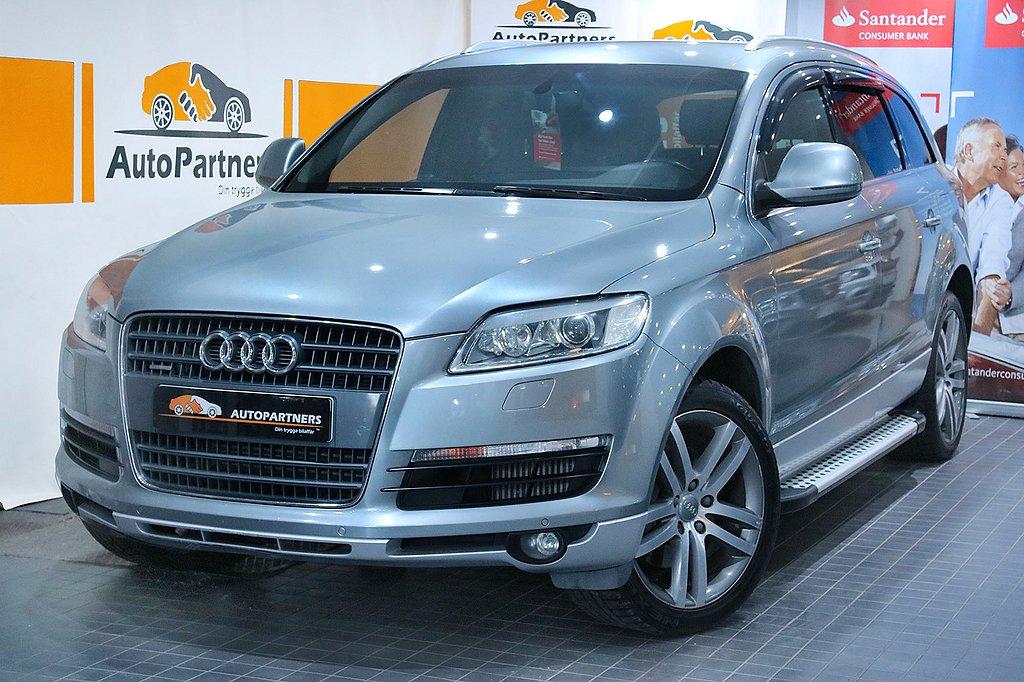 Audi Q7 3.0TDI Q TipTronic Design Sport NAVI  7-sits 233hk