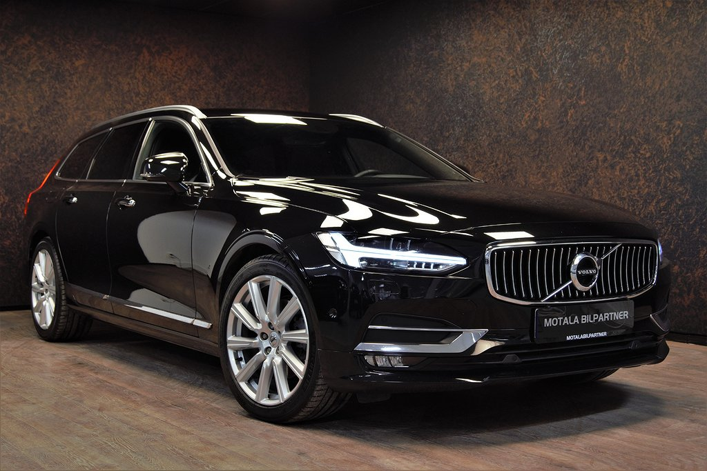 Volvo V90 D5 AWD INSCRIPTION | TEKNIKPKT | VÄRMARE | LÄDER