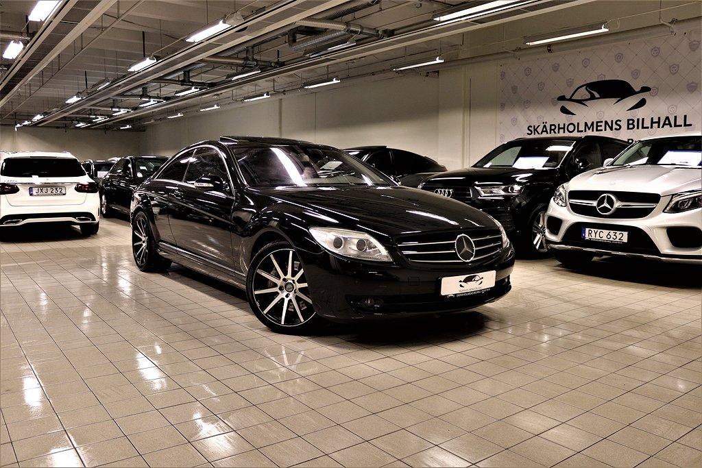 Mercedes-Benz CL 500 7G-Tronic 388HK UNIK NIGHT-VISION MAX UTR