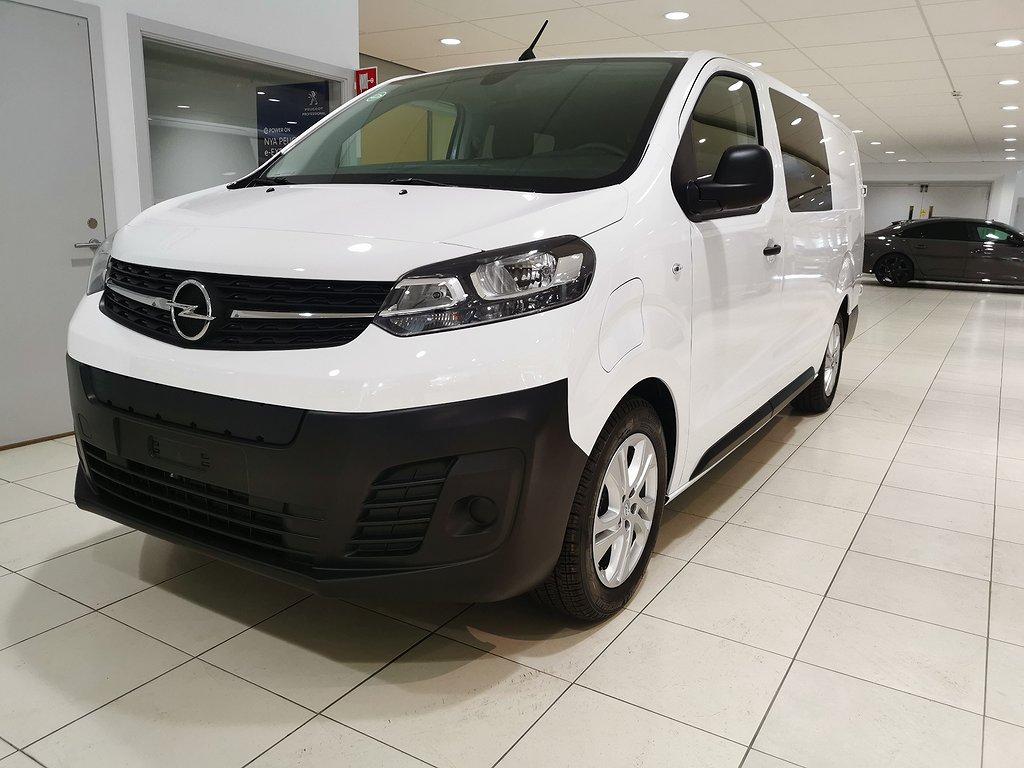 Opel E-Vivaro Crew Van Business L3 75kWh 330km räckvidd WLTP
