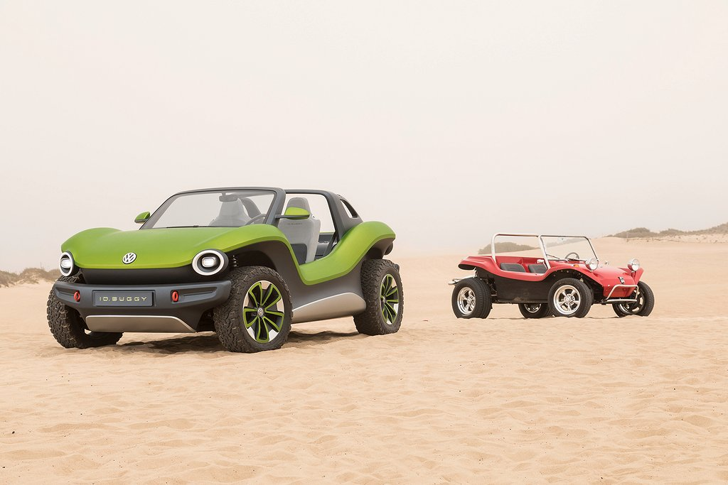 Old and new: Meyers Manx and ID.Buggy